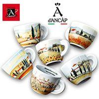 Bunte Motiv-Tassen Contrade Italiane von Ancap kaufen