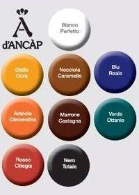 Farbpalette von Ancap Tassen für farbige Tassen