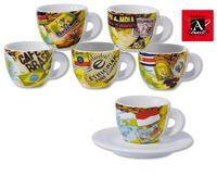 Bunte Motiv-Tassen Mondo Caffe von Ancap kaufen