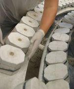 Negativ-Formen für die Porzellan-Fertigung bei Ancap Porzellan