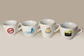 Logotassen aus hochwertigem Porzellan bestellen