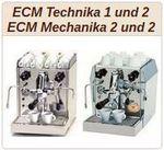ECM Mechanika und ECM Technika Baureihe I und II.