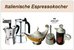 Informationen zum Kauf von Italienischen Espressokochern.