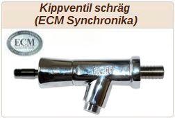 ECM Kippventil schräg z.B. ECM Synchronika.