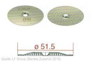 IMS Duschplatte 51,5mm CI 200 IM (98 Löcher 3mm) (IMS CI 200 IM) bestellen.