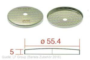 IMS Duschensieb 200 IM mit 56,4 mm Durchmesser (IMS MA 200 IM).
