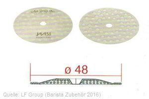 IMS Duschensieb 200 µm mit 48 mm Durchmesser (IMS SM 200 IM).