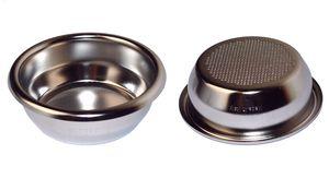 IMS Präzisionssieb SUPERFINE 2 Tassen für 12/18 gramm Höhe 24 mm.