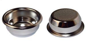 IMS Präzisionssieb SUPERFINE 2 Tassen für 18/22 gramm Höhe 28 mm.