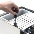 Brühdruckeinstellung bei ECM Espressomaschinen.