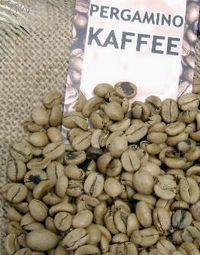 Entpulpung von Kaffee Arabica