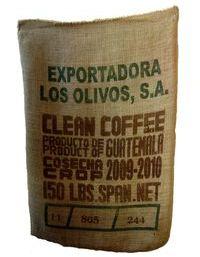 Kaffeesack für den Kaffeetransport