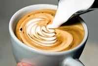Bestellen Sie Barista-Zubehör für Latte Art.