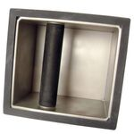 Bestellen Sie die stabile Rattle Ware Abklopfbox mit Boden.
