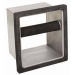 Abklopfbehälter für den Einbau in die Ladentheke oder über dem Mülleimer.
