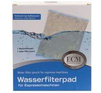 ECM Wasserfilterbeutel für die optimale Wasserhärte.>