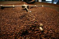 Kaffeeröstung in der Familienrösterei Bendinelli.