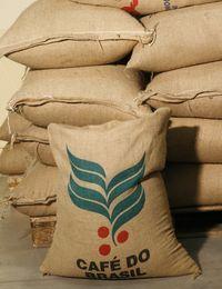 Rohkaffeelager in der Familienrösterei Caffe Roen von Sergio Bendinelli.