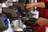 Kaffeeverkostung in der Rösterei Bendinelli.