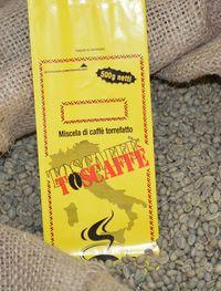 Die Kaffeerösterei Toscaffe in Castelfranco di Sotto nahe Pisa in der Toskana.