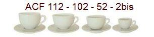 ACF Tassen der Tassenserie 2bis - 52 - 102 - 112