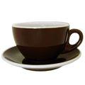 Dicke ACF Milchkaffeetassen Braun (marrone scuro), FAC Modell 108