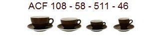 ACF Tassen der Tassenserie 511 - 58 - 108