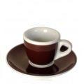 Dicke Ancap Espressotasse Braun.