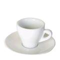 Weisse, tulpenförmige Espressotasse Torino von Ancap.
