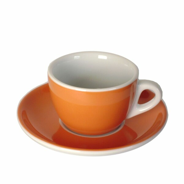Cappuccinotasse orange