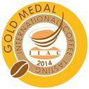 Prämierung mit der Goldmedaille beim International Coffee Tasting 2014